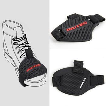 Shifter Gear Shift Pad jazda antypoślizgowa osłona buta motocykl miękka guma ochraniacz na buty motocyklowe buty regulowane odporne na zużycie tanie i dobre opinie Buty Ochrony Unisex