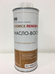 COSWICK NATURAL WOOD CARE & RENEWER OIL 0.75 Ltr. (HARD WAX OIL) Makes 45 mtr2