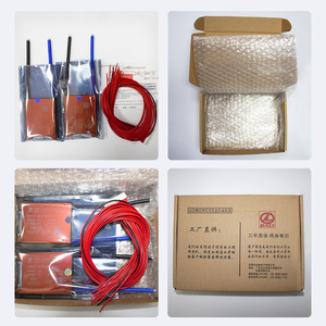Image 5 - 15S bms LiFePo4 48V 80A 100A 120A 150A 500A 18650 PCM 배터리 보호 보드 BMS with balanced lithium battery module with fan