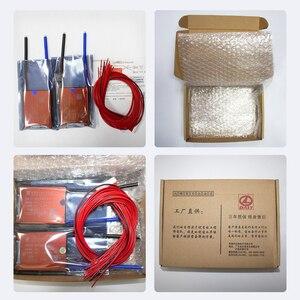 Image 5 - 15S bms LiFePo4 48V 80A 100A 120A 150A 500A 18650 PCM pil koruma levhası BMS dengeli lityum pil modülü fan ile