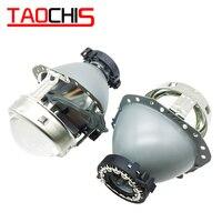 TAOCHIS 3.0 inch HID D2S D3S D4S D1S Car Bi Xenon Headlight Projector Lens H4 head light retrofit HELLA 2 LHD