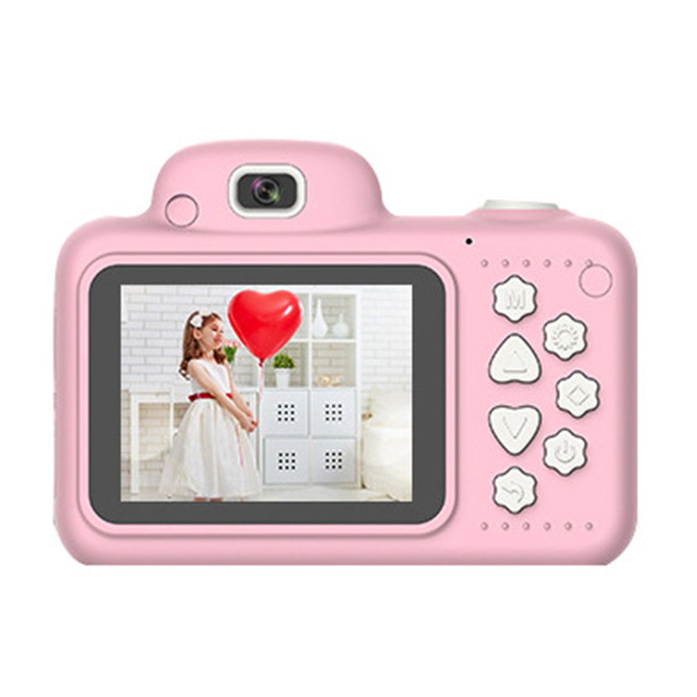 Hd08b2917358747f2a15c3dad382306095 Camera Gifts Video With Memory Card DSLR Camcorder Dual Lens Cartoon Kids Toys Shockproof Mini Digital ABS 2.4 Inch Screen