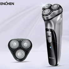 Xiaomi Enchen BlackStone Electric Original Shaver 3D Electric Shaver Men Washable USB Rechargeable Shaving Beard Machine xiaomi electric face shaver enchen blackstone 3d electric machine men razor beard washable usb type c rechargeable for gifts