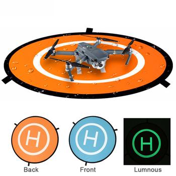 Uniwersalna podkładka do lądowania dla DJI Mavic Mini RC Drone przenośna składana poświata w ciemnej podkładce do dji mavic mini akcesoria do dronów tanie i dobre opinie BRDRC Landing Pad For DJI Mavic Mini RC Drone