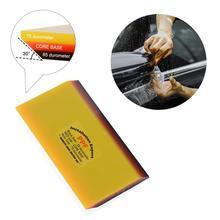 Ehdis 2 In 1 Vinyl Wrapping Rubberwisser Zachte Schraper Wrap Auto Venster Tinten Film Sticker Remover Auto Wassen Schoonmaken hand Tool