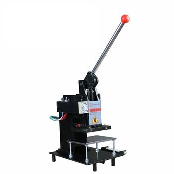 цена на Manual Hot Stamping Machine Multifunction Creasing Machine Leather Stamping Machine Hot Stamping Process Industrial Equipment
