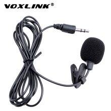 VOXLINK-micrófono portátil Universal de 3,5mm, Mini micrófono manos libres con Clip para PC, portátil, altavoz