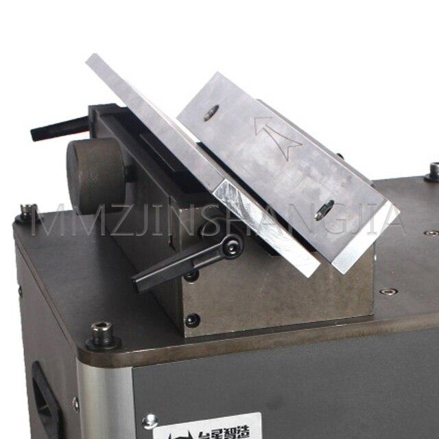 Фото портативный линейный аппарат для снятия фасок 380v правый угол