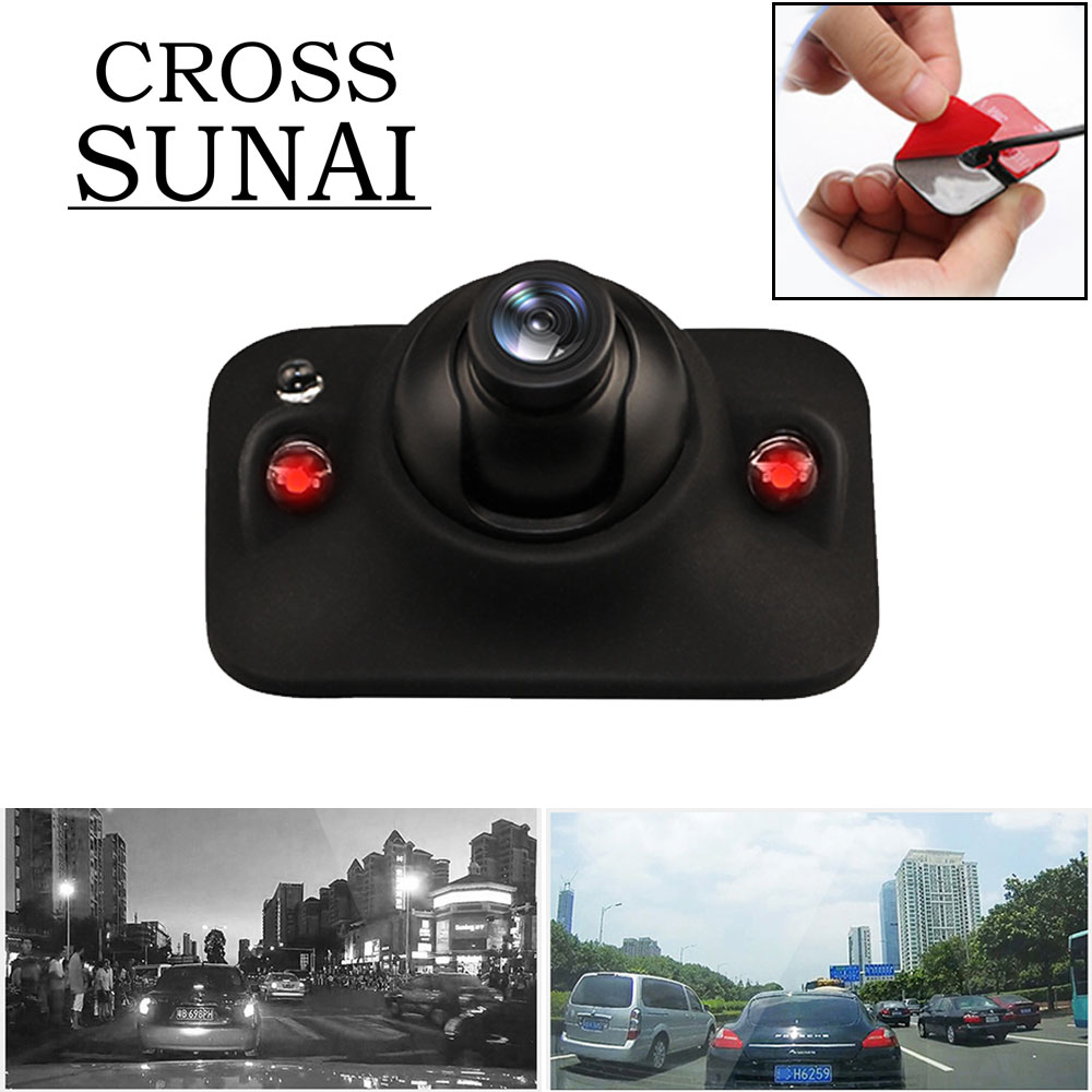 Mini Car HD Monitor Rear View Camera Car Front View Side Reversing DVR Wire Vehicle Night Vision Auto Backup Camera Waterproof