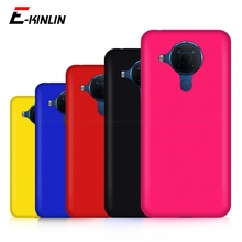 Ultra cienka, cienka, matowa, twarda obudowa z tworzywa sztucznego do telefonu Nokia X20 X10 3.4 5.4 2.4 matowa tylna okładka