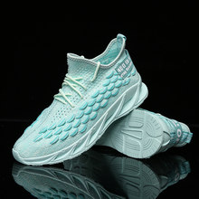 FAN PAO Casual Gym Shark Official Original Yeezys Air Boost 400 Springblade Outsole Men Running Shoes Off White Brand Sneakers(China)