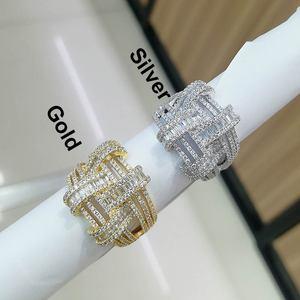Image 3 - GODKI 2019 Trendy Cross Geometry Cubic Zirconia Stacks Rings for Women Finger Rings Beads Charm Ring Bohemian Beach Jewelry 2019