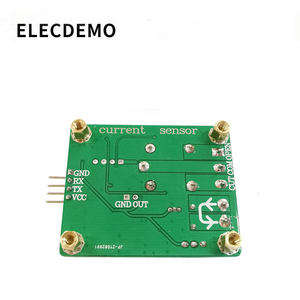 Image 4 - WCS2702 high precision AC and DC current detection sensor module 2A current limiting protection relay serial port