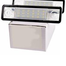2 шт. светодиодный номерной знак светильник для Vauxhall для Opel для Corsa B Astra F G для Vectra авто Замена автомобиля-Стайлинг