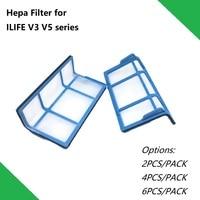 Filtro HEPA para Aspirador de pó Robótico 2 pçs/lote Xiaomi MIJIA 1st Geração Acessórios Peças|Peças p/ aspirador de pó| |  -