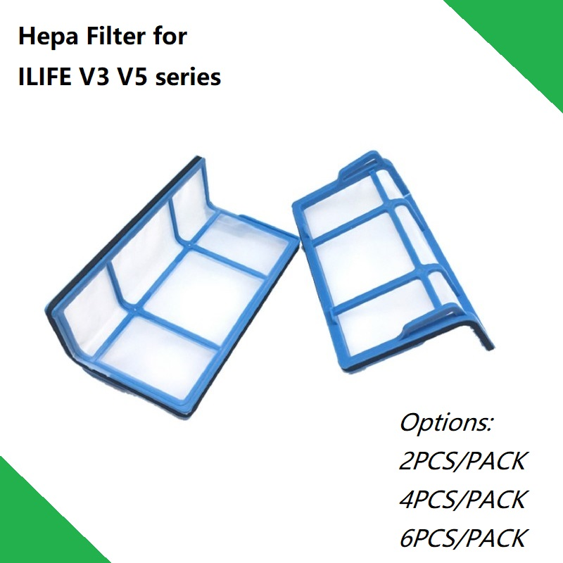 HEPA Filter For Robotic Vacuum Cleaner ILIFE V3spro V3S V5s ProV5S V50 V55 Accessories Parts