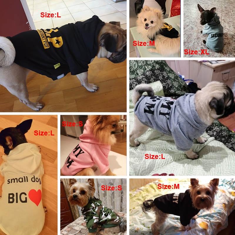 dog hoodie coat