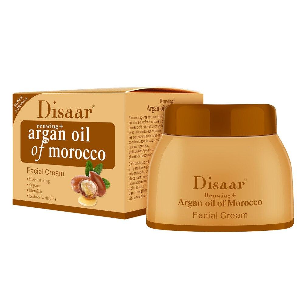 Argan Oil Morocco Cream Repair Lighten Blemish Face Cream Serum Skin Care Anti-aging Face Lifting Firming Smooth Cream 50g 4