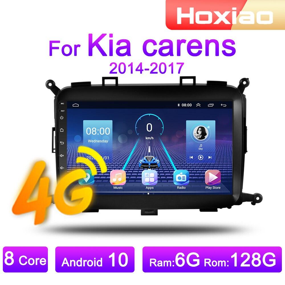 Автомагнитола 2 Din, 4G, Android 8,1, мультимедийный видеоплеер для Kia carens 2014, 2015, 2016, 2017, Wi-Fi, ОЗУ 2 Гб, ПЗУ 32 ГБ, GPS-навигатор