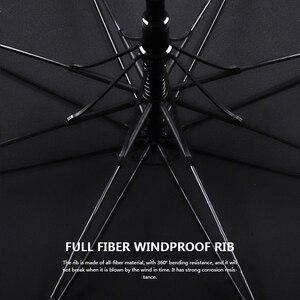 Image 4 - New Arrival Japanese Brand Long Umbrella 8K Windproof Wooden Handle Large Men Umbrellas Rain Quality Classic Business Paraguas