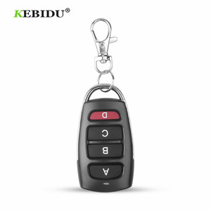 Image 5 - KEBIDU 4 Button Clone Cloning Copy 433mhz Electric Garage Door Remote Control Duplicator Key Remote Controller Switch