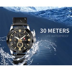 Image 4 - KADEMAN עסקי גברים שעונים למעלה מותג יוקרה עמיד למים קוורץ שעוני יד תאריך אופנה מזדמן הלם עמיד Relogio Masculino