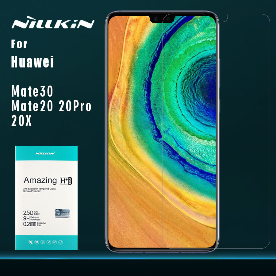 Nillkin for Huawei Mate 30 20 20 X Tempered Glass Nilkin Amazing H+ Pro Glass 2.5D Screen Protector Film for Huawei Mate 20X|Phone Screen Protectors| |  -