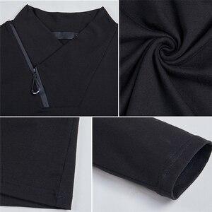 Image 5 - BROWON Brand T shirt 2020 Mens Tshirt Autumn Fashion Long Sleeved T shirt Men Slim Fit Plus Size M 5XL Cotton T Shirt