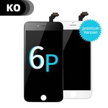 Original KO High Quality Full LCD Display for iphone 6plus+Touch Screen Digitizer Assembly Display 5
