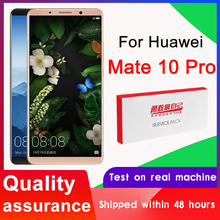 100% Tested 6.0'' Display Replacement for Huawei Mate 10 Pro LCD Touch Screen Digitizer Assembly BLA-L09 BLA-L29 LCD With Logo