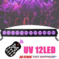 12 LED 9LED Disco UV Violet Black Lights DJ Par Lamp For Party Christmas Bar Lamp Laser Stage Wall Washer Spot Light Backlight