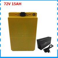 1500W 72V Lithium Batterij 72V 15AH Ebike Bateria Pack Gebruik 29E 2900 Mah 18650 Mobiele 30A Bms met 84V 2A Charger Gratis Douanerechten