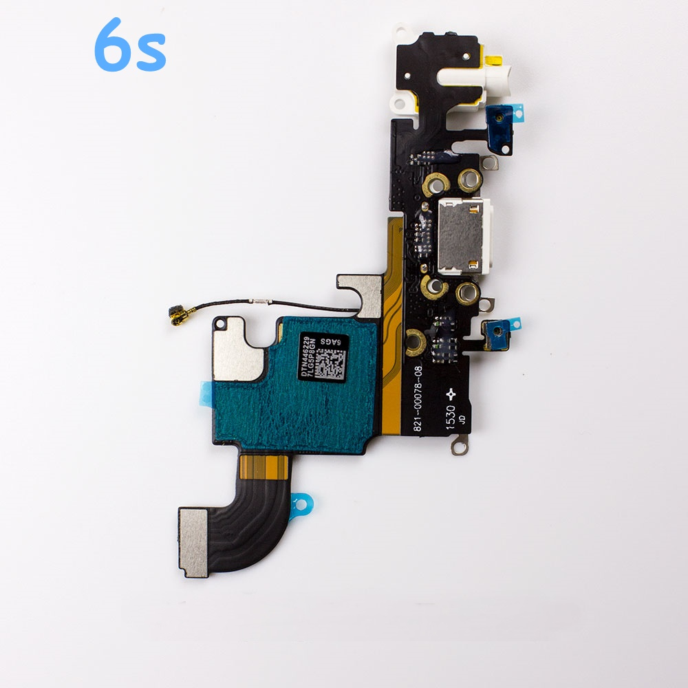 <font><b>USB</b></font> Charging Port Dock Connector Flex Cable For iPhone 4s <font><b>5</b></font> 5s SE 5C <font><b>6</b></font> 6s <font><b>6</b></font> Plus 6s Plus with Mirco Phone Headphone Audio Jack image