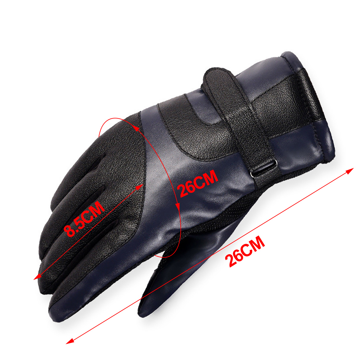 Ski Gloves Leather Men Women Winter Thermal Warmer Touchscreen Glove Camouflage Windproof Waterproof Cycling Motorcycle Gloves