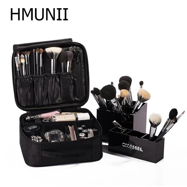 HMUNII Brand Women Cosmetic Bag