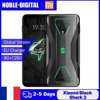Перейти на Алиэкспресс и купить Глобальная версия Xiaomi Черная Акула 3 5G смартфон 8G 128G 6,67 дюймов AMOLED экран 865 90 Гц Octa Core