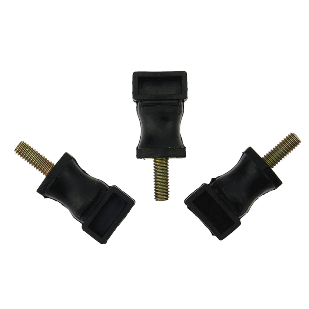 3PCS Secondary Air Pump Rubber Mount Replacement For Beetle Golf Jetta 06A133567A Buffer Rubber Rad