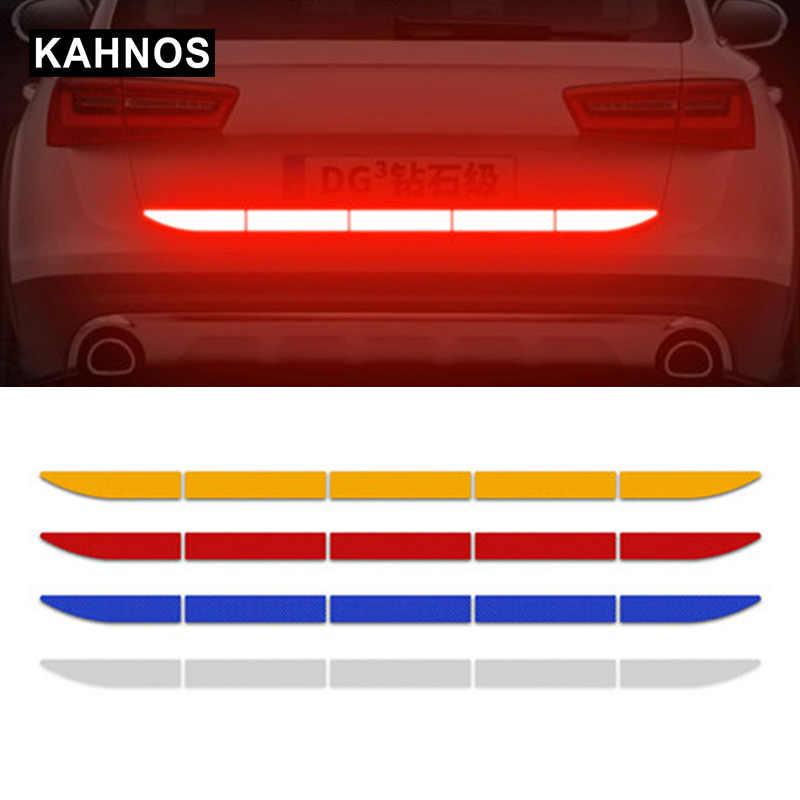 Reflective Warn Strip Tape Car Bumper Truck Safety Decal Car Sticker Accessories