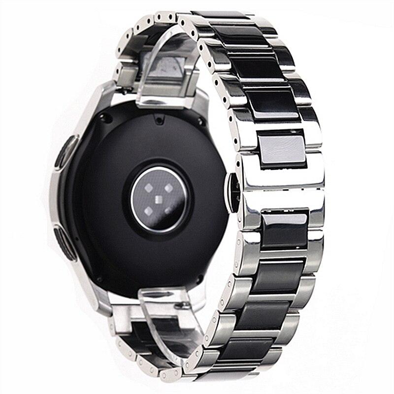 Bracelet de montre en acier inoxydable 20mm 22mm pour accessoires de la série SX bracelets de montre élégants de haute qualité bracelet de montre brillant lisse