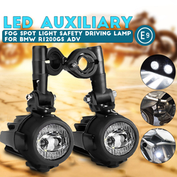 Motorrad nebel lichter Für BMW R1200GS ADV F800GS F700GS F650GS K1600 LED Hilfs Nebel Licht Assemblie Fahren Lampe 40W