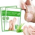 Отшелушивание ног маска для лица, оказывающего отшелушиващее и смягчающее действие носки педикюрные пилинг для удаления омертвевшей кожи ...