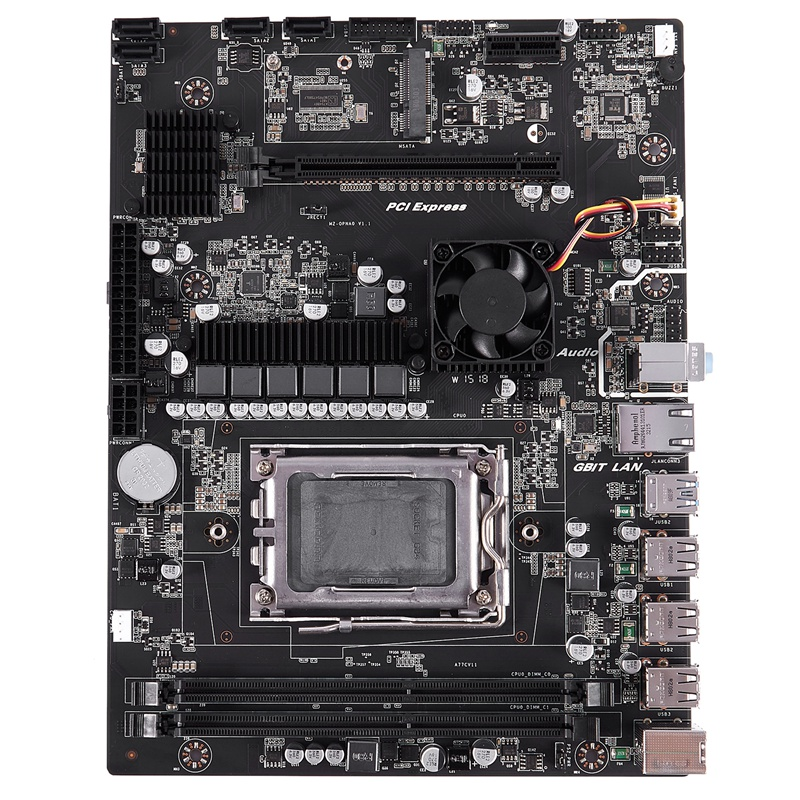 New X89 Socket G34 Practical Desktop Computer Mainboard with SATA 2.0 USB 3.0 2 DDR3 1600 16G Motherboard for AMD image
