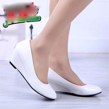 sexy casual Pumps Women Shoes Ladies Roman Elegant Casual female Shoe work shoes Comfort med Heel pumps shoe