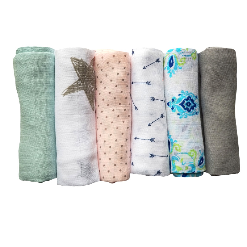 70*70 CM Baby Cotton Muslin Blanket Swaddle Newborn Gauze Wrap Receiving Blanket Kids Bath Towel