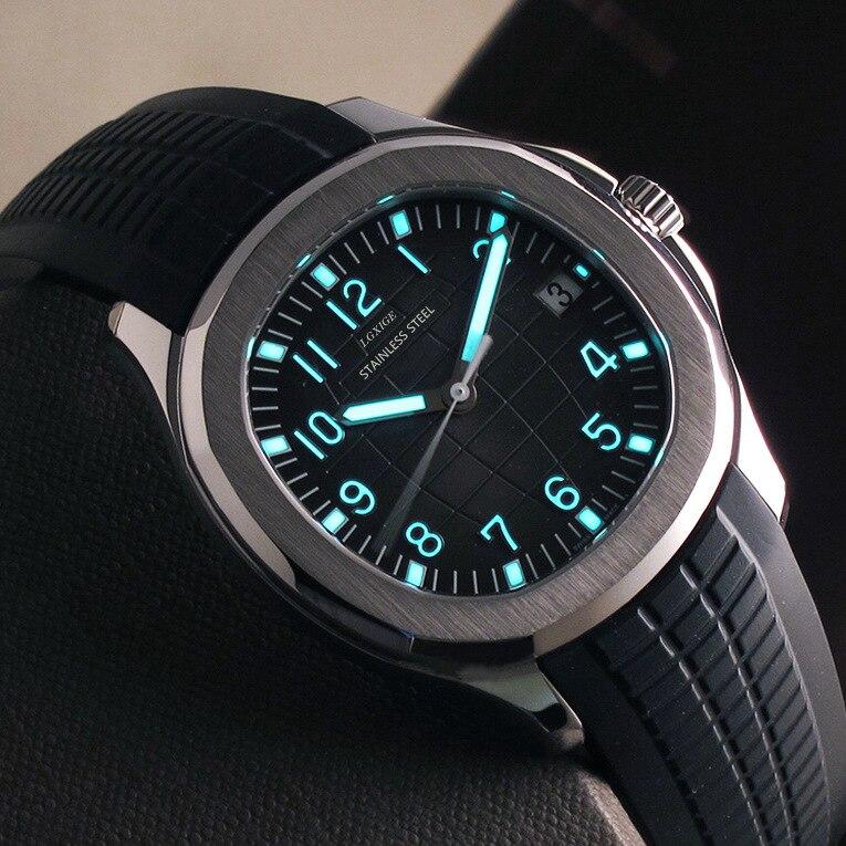 DIDUN assistir Homens Top Marca de Luxo Relógio de Quartzo Relógio Esportivo Cronógrafo Rosegold 30m relógio de Pulso À Prova D' Água À Prova de Choque