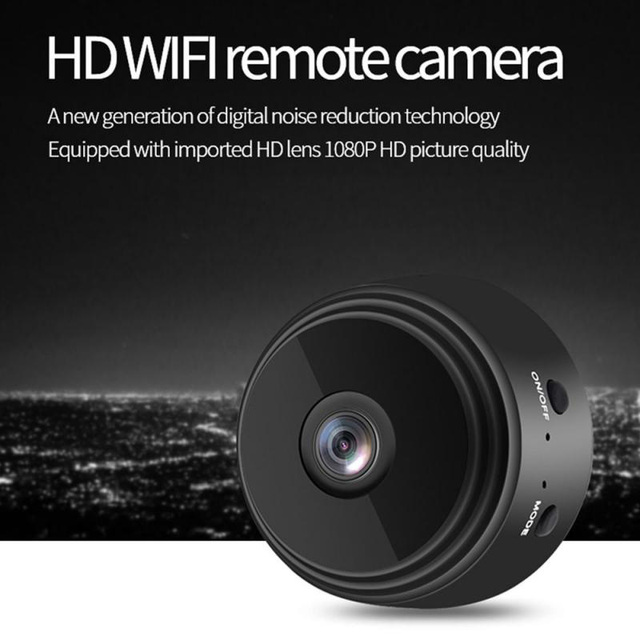 Wireless IP Camera Work On 2.4GHz WiFi Night Vision Alarm Push Built-in Magnet Easily Place Anywhere 1080P Home Security Camera 2
