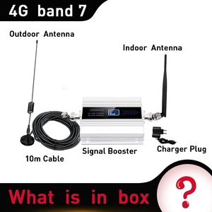 Image 5 - Russia cellular amplifier 2600 mhz 4G Mobile signal Booster repeater 4g signal 2600 Repeater Cellular Amplifier 4G Antenna