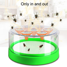 Reusable Effective Fly Trap Pest Device Insect Catcher Automatic Flycatcher Fly Trap Catching Artifacts Insect Trap May26 electric flycatcher automatic fly trap device with trapping food fly catcher trapper pest insect flytrap usb type fly trap bait