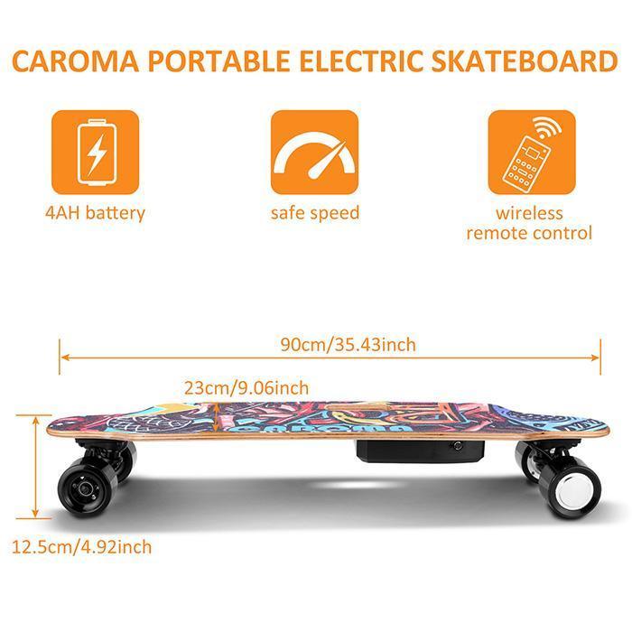 "36"" Electric Skateboard with Wireless Remote"