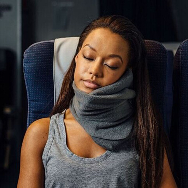 Neck Scarf Pillow Comfortable Travel Pillows For Sleep Home